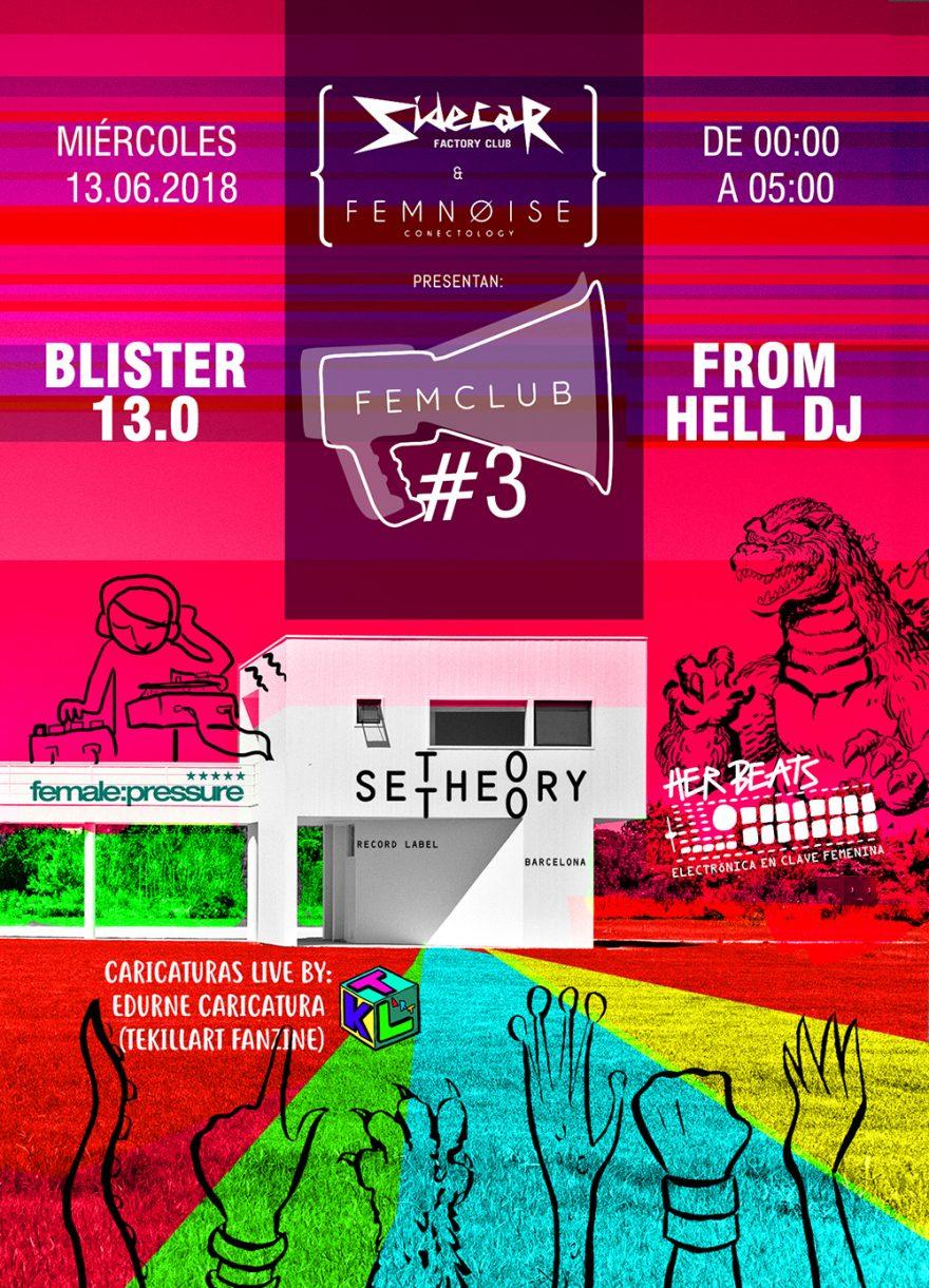 Fem Noise 3: Blister 13.0 + From Hell DJ