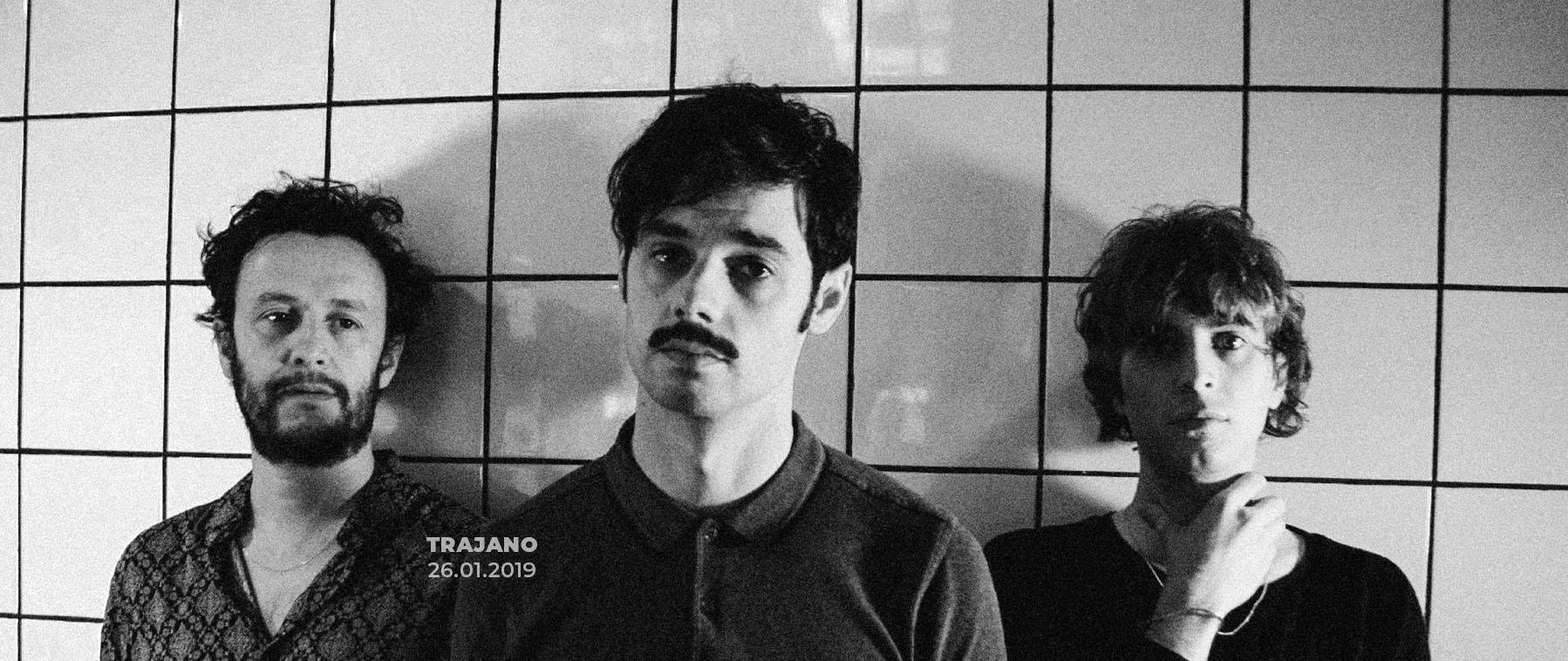 Trajano en concierto en Sidecar, 29-01-2019