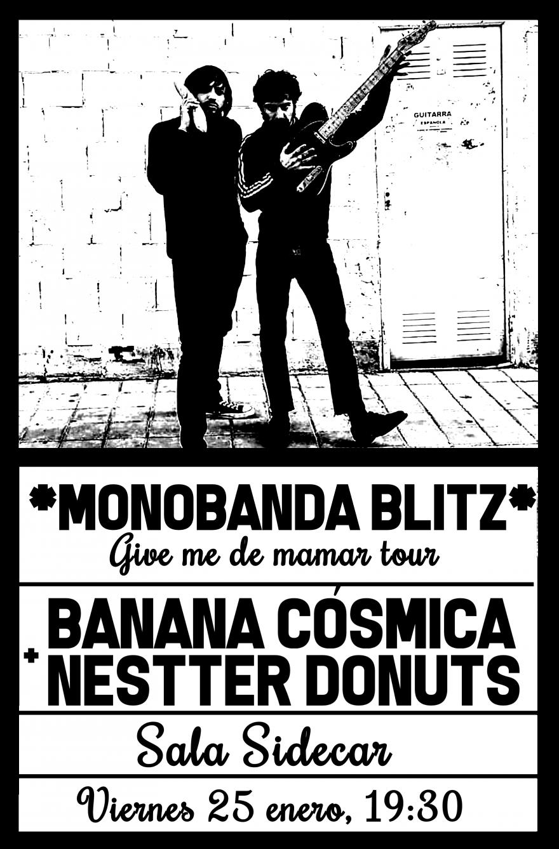BANANA CÓSMICA + NESTTER DONUTS
