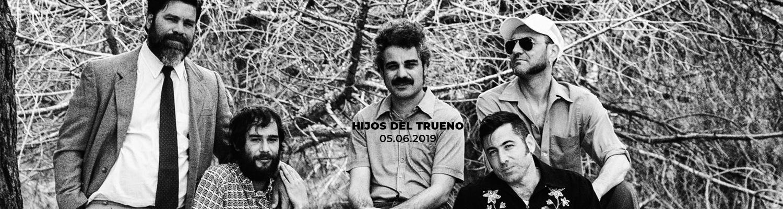 Hijos del Trueno en Sidecar, Barcelona (06/05/2019)