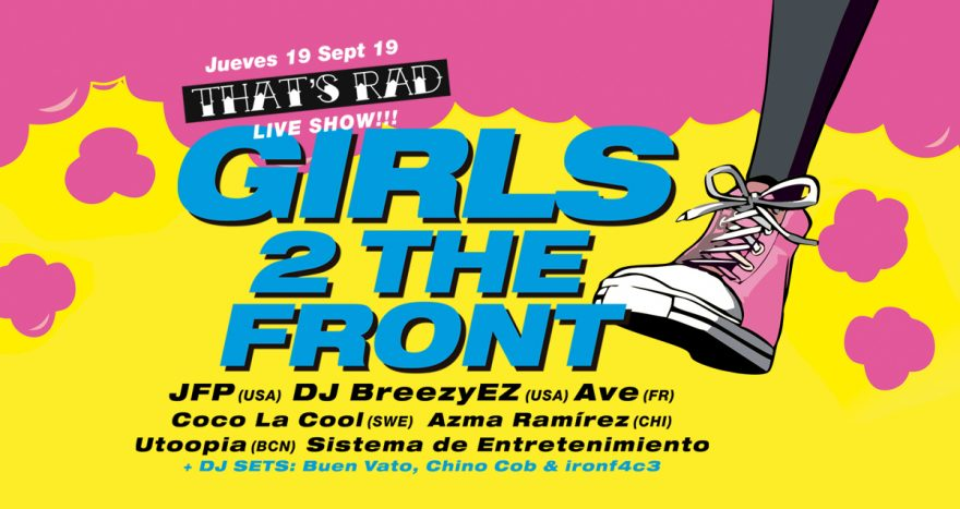 GIRLS TO THE FRONT 2