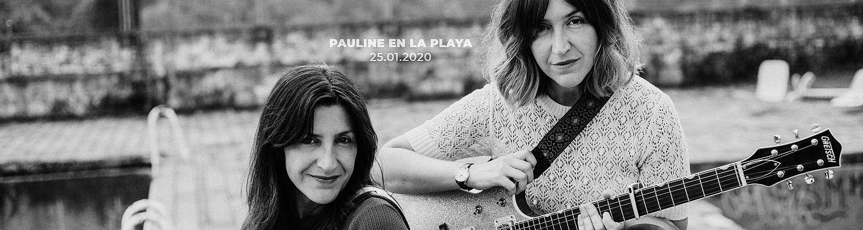 Pauline en la Playa en Sidecar, Barcelona (25/01/2020)