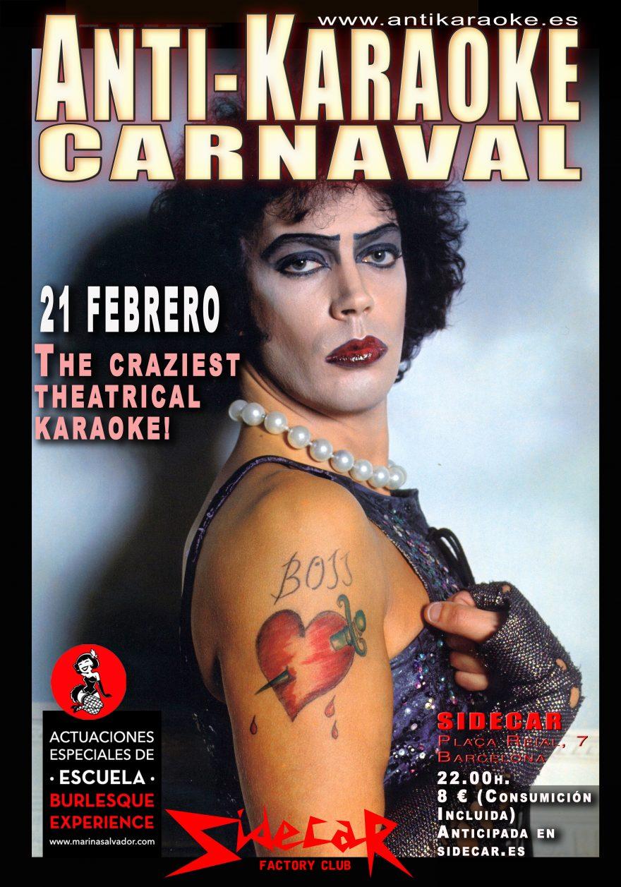 Antikaraoke Carnaval 2020
