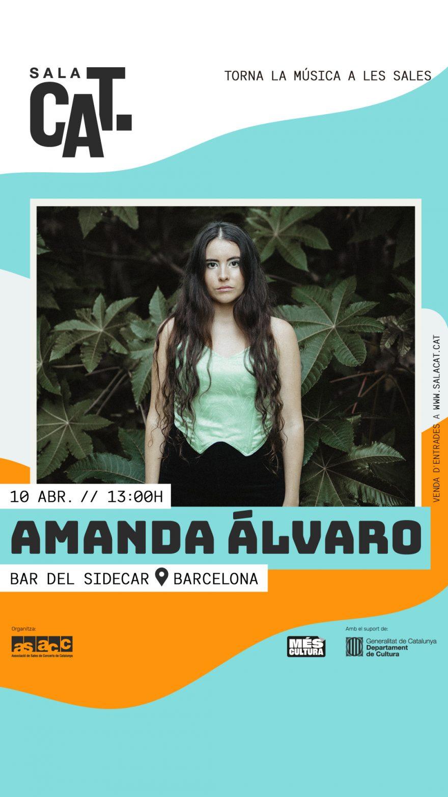 Amanda Álvaro a Sidecar